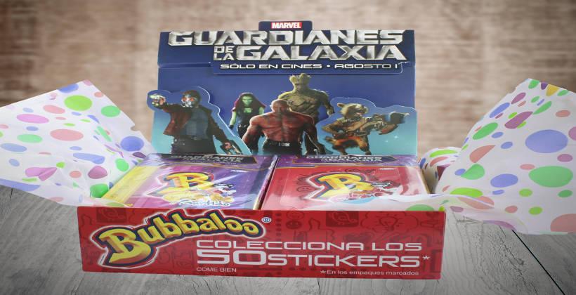 Bubbaloo ahora conquista a Guardianes de la Galaxia