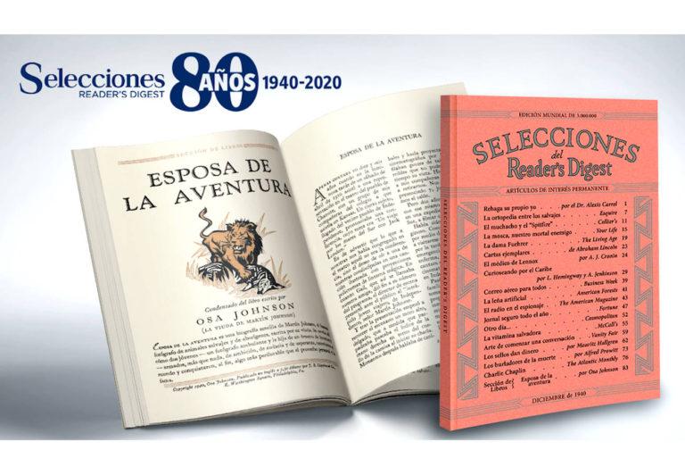 Selecciones Reader's Digest celebra 80 años. . . historia, constancia y ejemplo