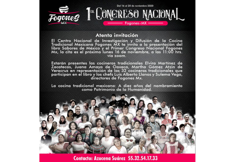 Primer Congreso Gastronómico: Fogones MX