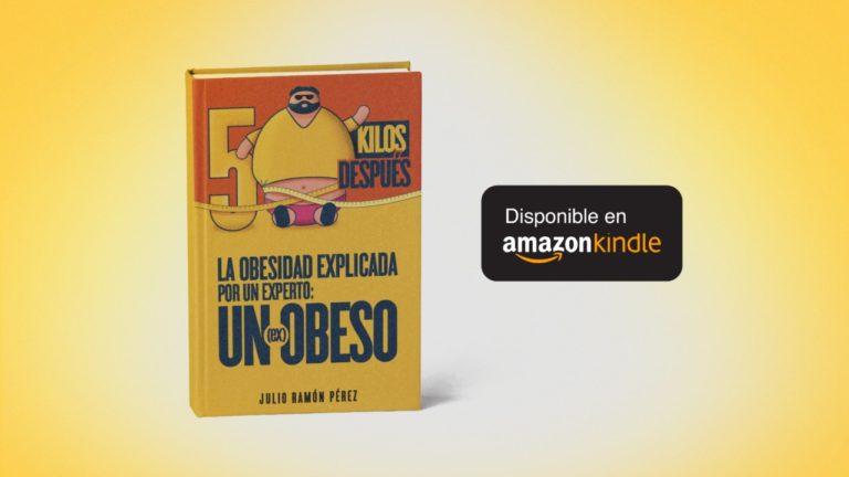 50 KILOS DESPUÉS, libro disponible en Amazon Kindle