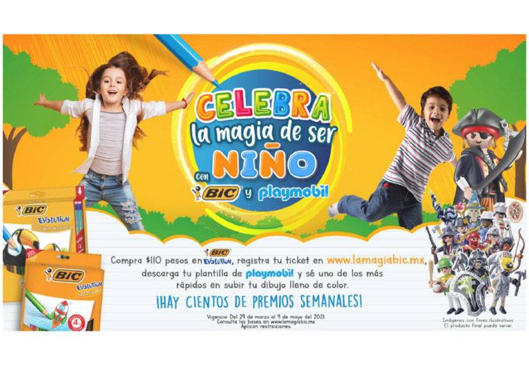 BIC y PLAYMOBIL celebran a los niños de México