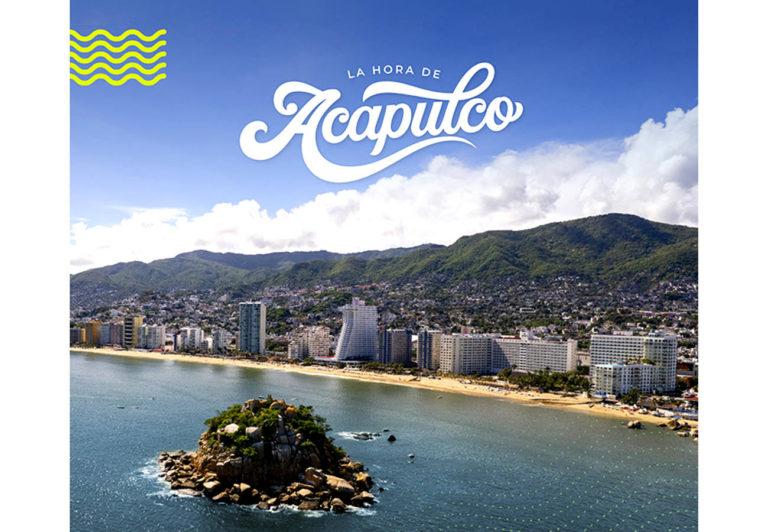 LA HORA DE ACAPULCO, nueva estrategia de promoción turística