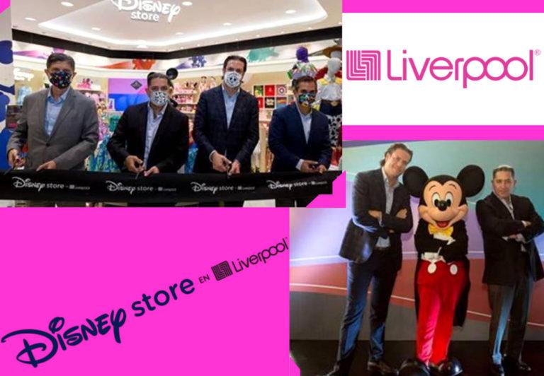 Disney Store llega a Liverpool