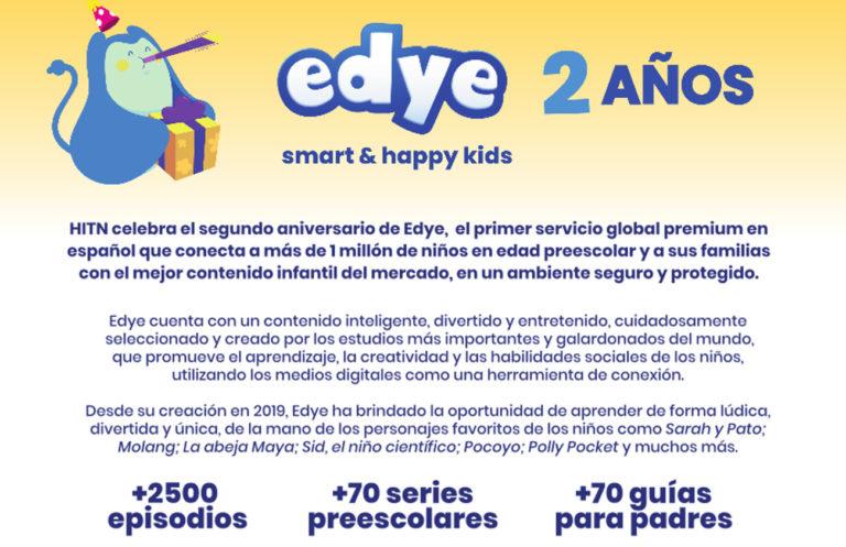 EDYE supera 1 millón de suscriptores
