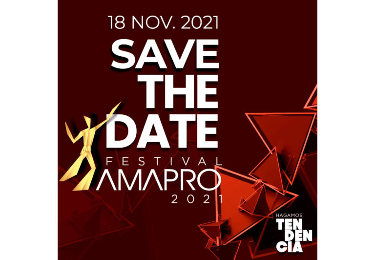 Festival AMAPRO 2021 próximamente en formato digital (18 Noviembre)