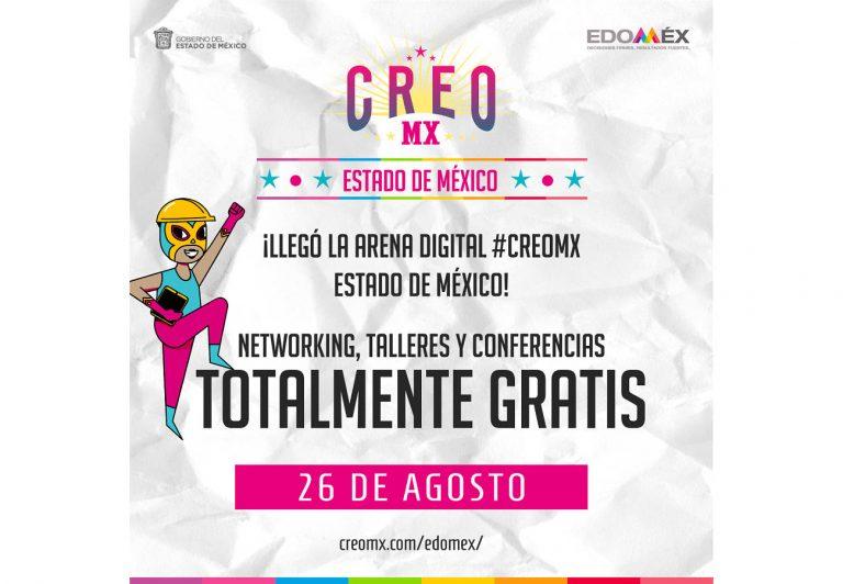 CREO MX EDOMEX 2021, iniciativa que se busca impulsar a las PyMEs y emprendedores