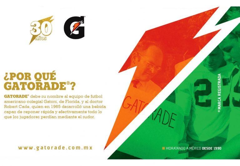 Gatorade celebra su 30º aniversario en México