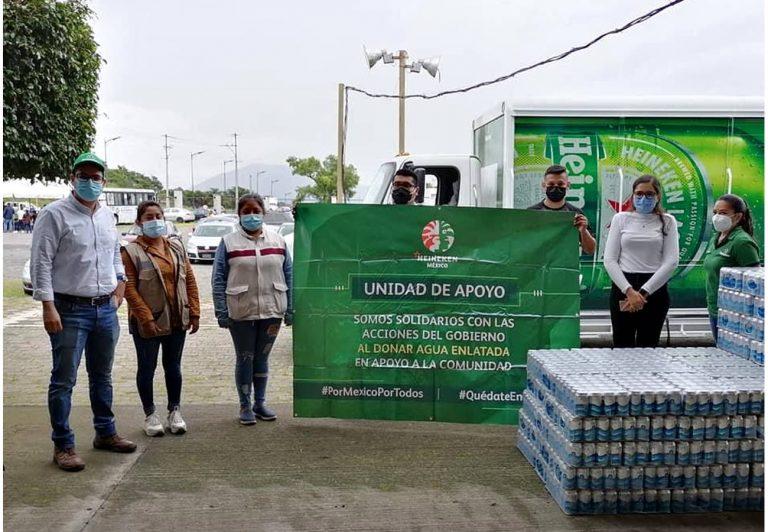 HEINEKEN México produce más de 4.5 millones de latas de agua potable