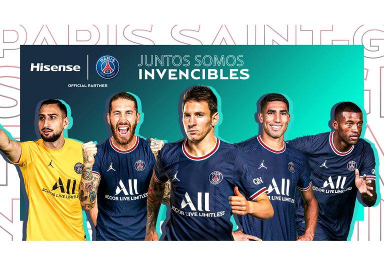 Hisense será parte del impresionante equipo que ha formado el Paris Saint-Germain