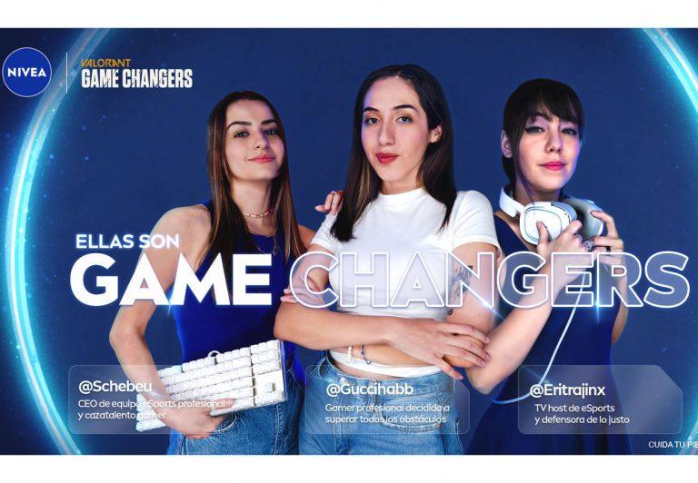 NIVEA incursiona en el mundo del gaming en México con la campaña Game Changers