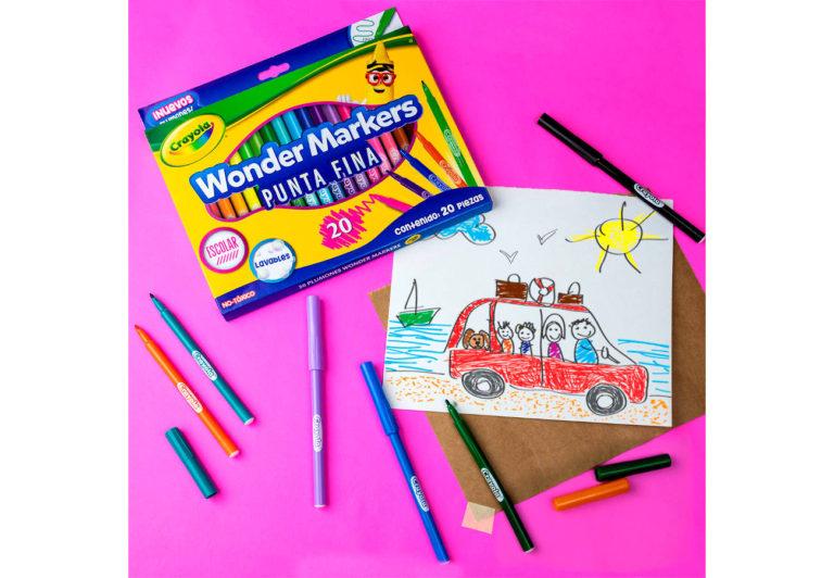 Crayola lanza los nuevos plumones Wonder Markers