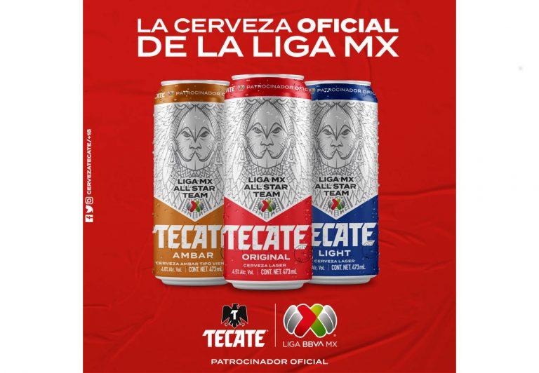 Tecate y Liga MX lanzan latas de edición limitada