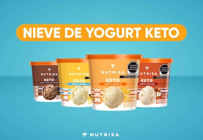 La Nieve de Nutrisa, línea Keto, ya está disponible en el autoservicio
