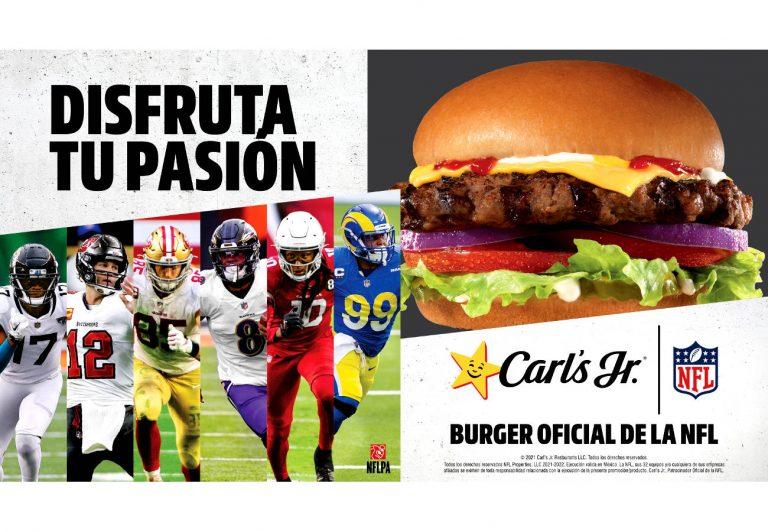 CARL'S JR. se convierte en patrocinador oficial de la NFL