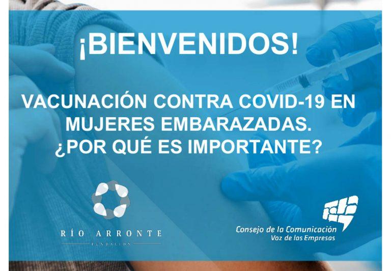 Vacunación COVID-19 en mujeres embarazadas