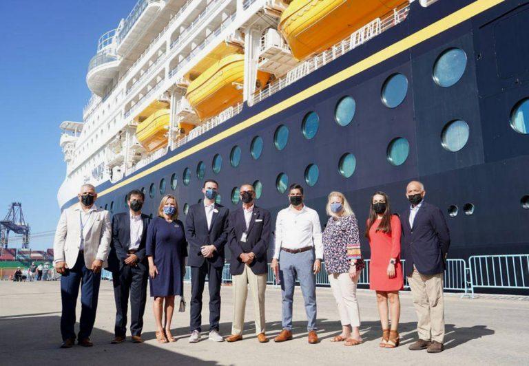 El crucero Disney Wonder vuelve a navegar