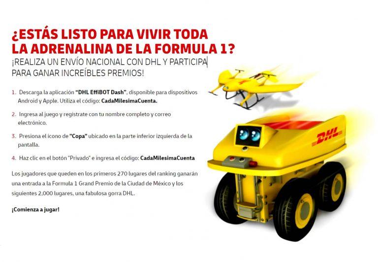 DHL Express lleva a sus clientes al Gran Premio de México