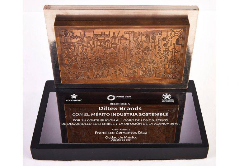 Diltex Brands recibe reconocimiento por su contribución al logro de los ODS