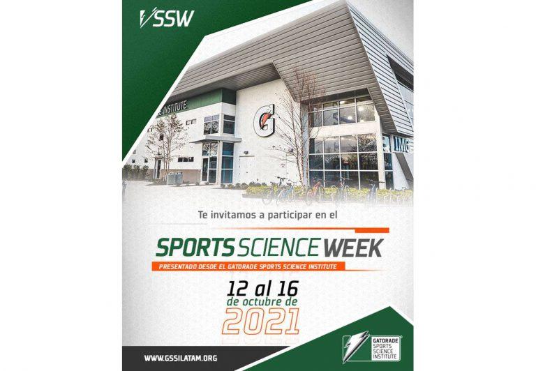 Sports Science Week, conferencias y paneles virtuales, del 12 al 16 de octubre
