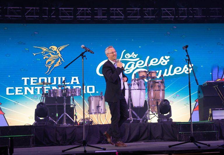 Tequila Centenario y Los Ángeles Azules celebraron a México