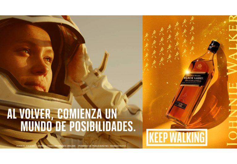 Johnnie Walker, utilizando un traductor cookieless para su campaña 'Astronauta'