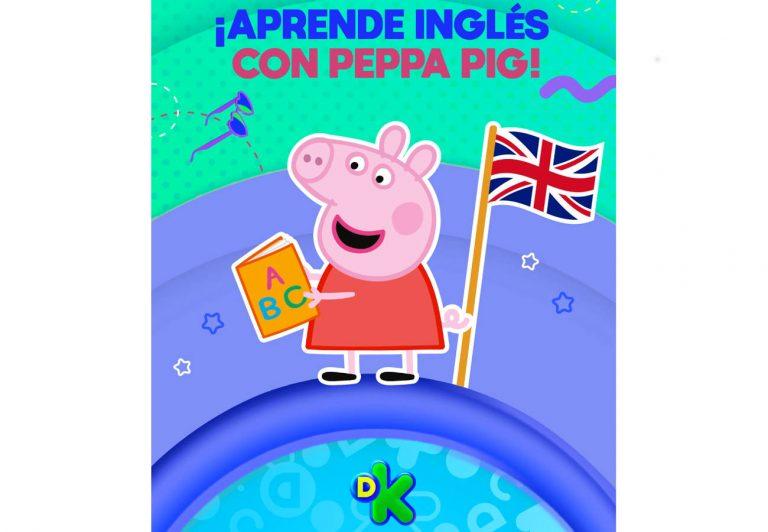 Peppa Pig, une esfuerzos en una campaña de donación para apoyar proyectos educativos