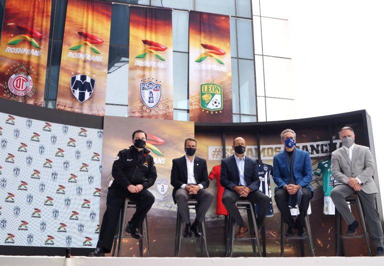 Roshfrans anunció su regreso a la LigaMX, patrocinando a 4 equipos