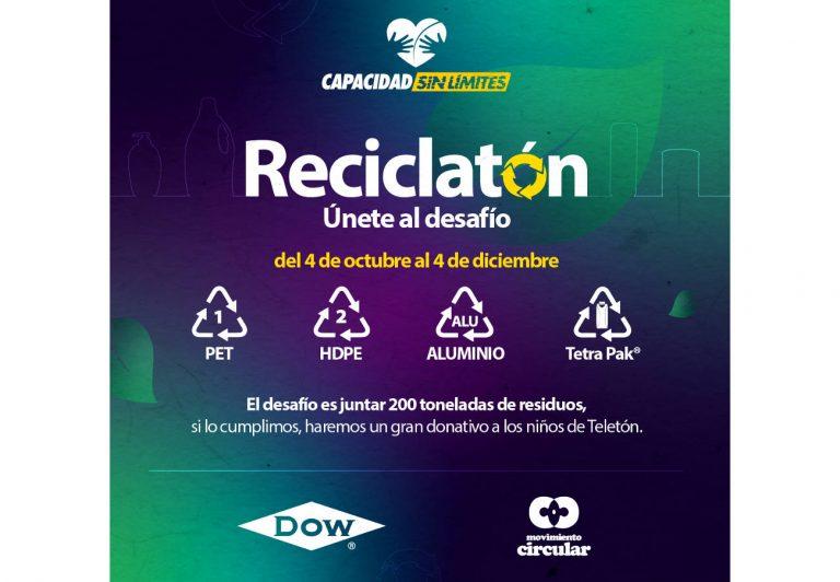Reciclatón pretende recolectar 200 toneladas de residuos