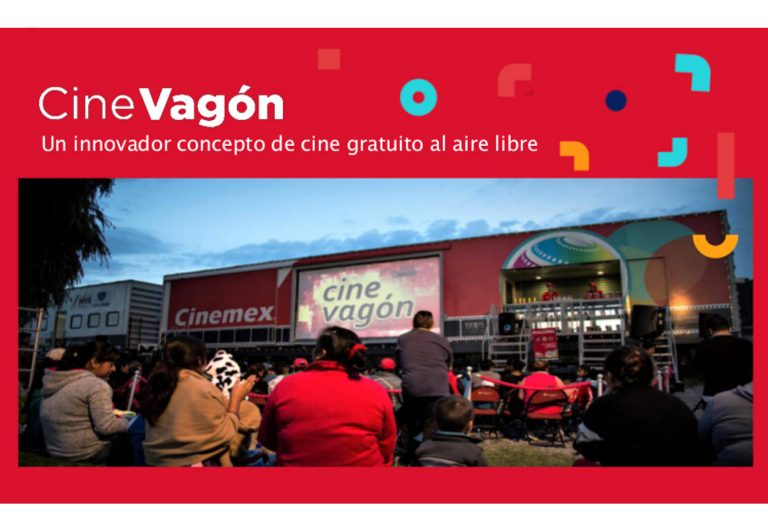 Cine Vagón, regresa la magia del cine a las comunidades más vulnerables de México