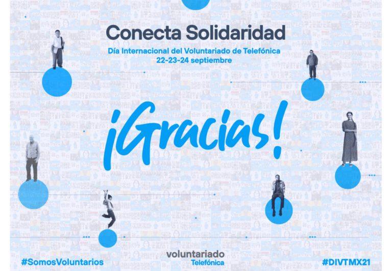 El Día Internacional del Voluntariado de Telefónica