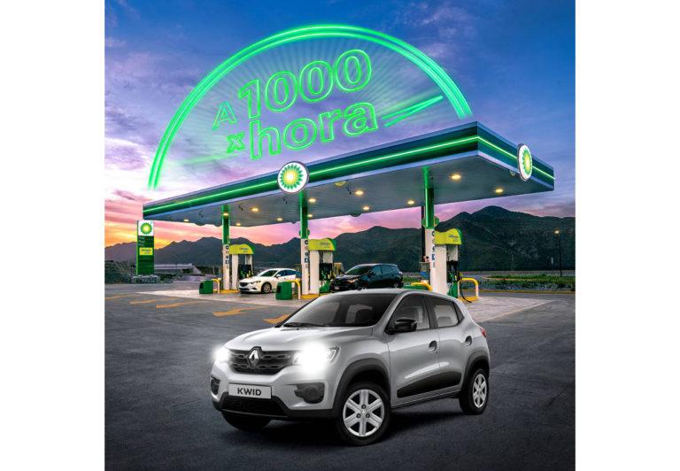 Gasolineras bp regalan autos por semana!