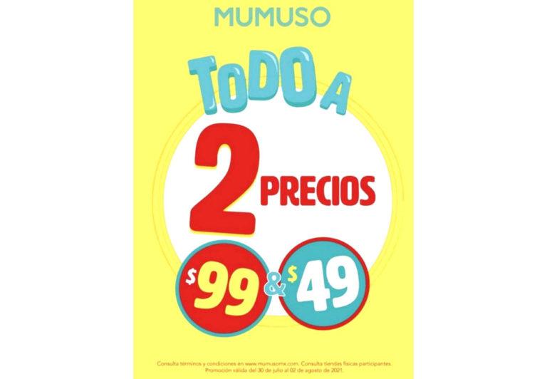 MUMUSO lanza gran promo!